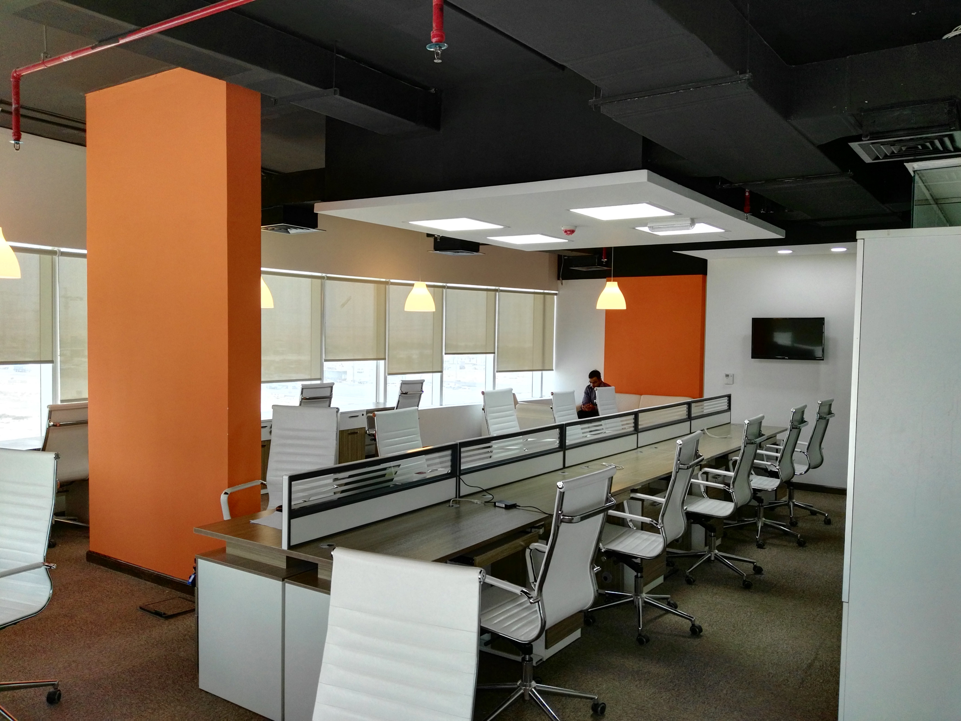interior decoration of office. Selevision Office IMPZ DUBAI 1 I Commercial Interior Decoration Of E